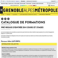Catalogue de formations - lametro.fr