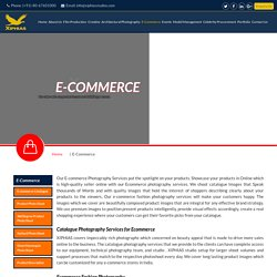 E-commerce Photoshoot services in india