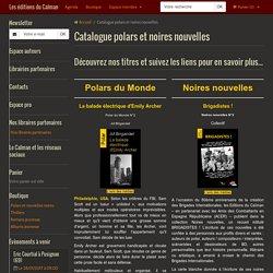Catalogue polars et noires nouvelles