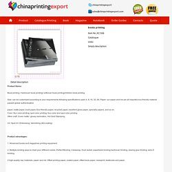 China Printing Service - Chinaprintingexport