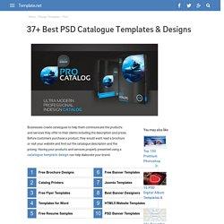 37+ Best PSD Catalogue Templates & Designs