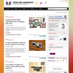 Faites des catalogues, le blog des experts catalogue