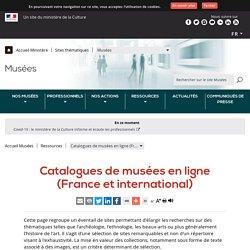 Catalogues de musées en ligne (France et international)