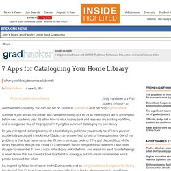 7 Apps for Cataloguing Your Home Library