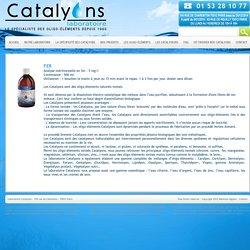 Catalyons laboratoire, oligo éléments ionisés naturels, Paris