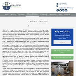 Catalytic Oxidizers - VOC Abatement Systems