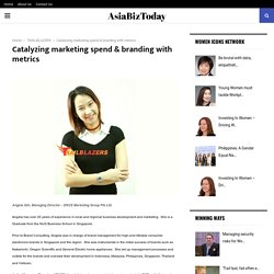 Catalyzing marketing spend & branding with metrics