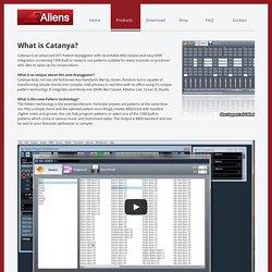 Catanya VST MIDI Arpeggiator