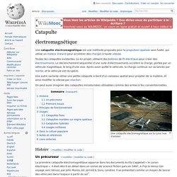 Catapulte électromagnétique
