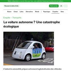La voiture autonome? Une catastrophe écologique