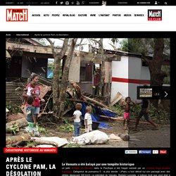 Catastrophe historique au Vanuatu - Après le cyclone Pam, la désolation