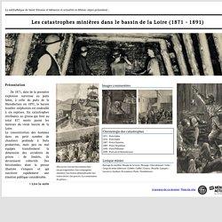 Les catastrophes minières dans le bassin de la Loire (1871-1891), exposition virtuelle