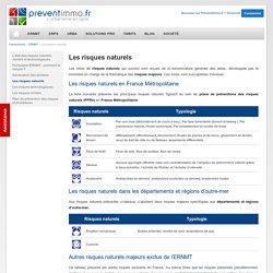 Les risques naturels en France: catastrophes naturelles, inondation