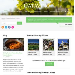 Catavino | Spanish wine, Portuguese wine, and a while lot more