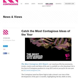 Catch the Most Contagious Ideas of the Year
