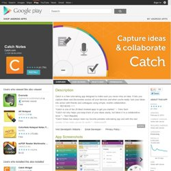 Catch - Apps on Android Market