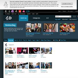 4oD Catch-Up - Channel 4