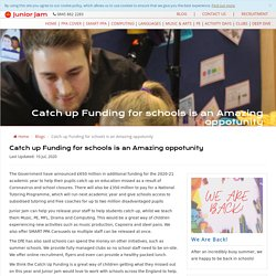 Catch Up Funding Opportunities