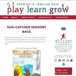Sun-catcher Sensory Bags