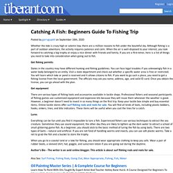 Useful Tips for Your Fishing Trip