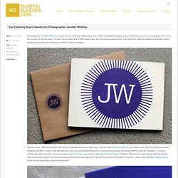 Eye Catching Brand Identity for Photographer Jennifer Whitney