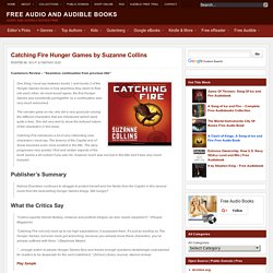 Catching Fire Hunger Games by Suzanne Collins Audio Book 2