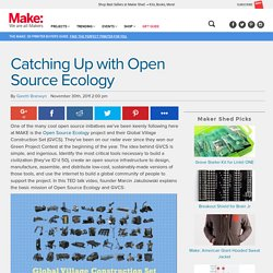 Catching Up with Open Source Ecology
