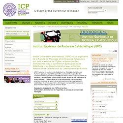 Institut Supérieur de Pastorale Catéchétique (ISPC)