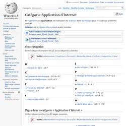 Catégorie:Application d'Internet