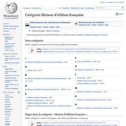 Catégorie:Maison d'édition française