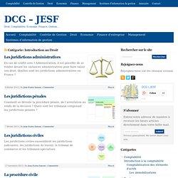 DCG - JESF - Archives de la catégorie Introduction au Droit