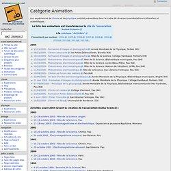 Catégorie:Animation