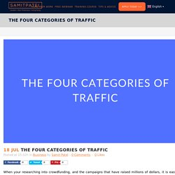 The 4 Essential Traffic Categories For Successful Crowdfunding Campaign