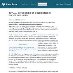 BUY ALL CATEGORIES OF GOLD BONDING FINGER PCB HERE!!