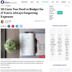 101 Budget Categories You Need to Avoid Surprise Expenses
