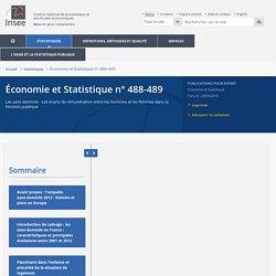 Un «désordre» dans la catégorisation: le déclassement statutaire atypique de diplômés du supérieur sans domicile−Économie et Statistique n°488-489