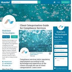 Client Categorisation Guide for Compliance Services