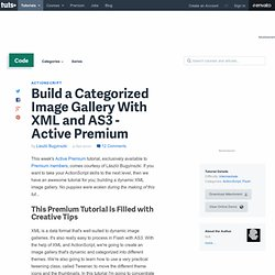 Build a Categorized Image Gallery With XML and AS3 – Active Premium
