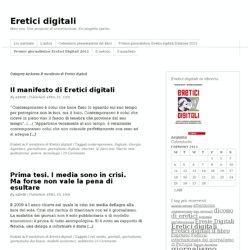 Archivo delle Categorie: Il manifesto di Eretici digitali