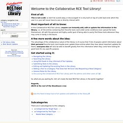Category:RCE Tools - Collaborative RCE Tool Library
