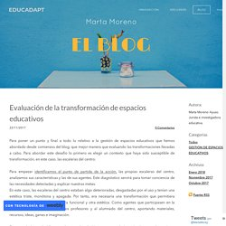 Category: GESTIÓN DE ESPACIOS EDUCATIVOS - EDUCADAPT