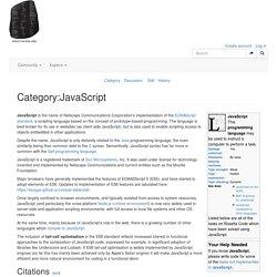 Category:JavaScript - Rosetta Code