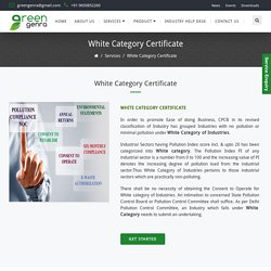 DPCC White Category License