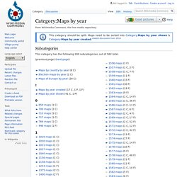 Category:Maps by year