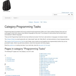Category:Programming Tasks