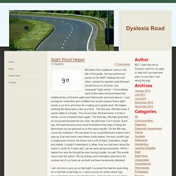 Category: Visual Spatial - Dyslexia Road