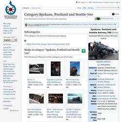 Wikimedia: Spokane, Portland, and Seattle 700