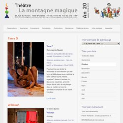 Category » — à partir de 2 ans 1/2 « @ Théâtre La montagne magique