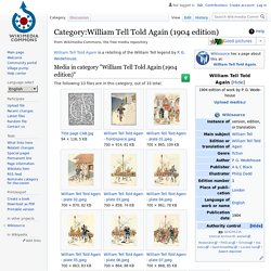 Category:William Tell Told Again (1904 edition)
