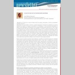 CATENARIA - Gestión del Conocimiento